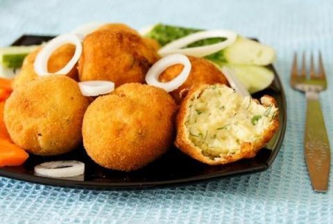 Фото для рецепта: Картофельные крокеты