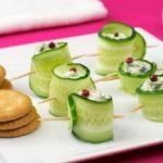 Фото для рецепта: Роллы из свежих огурцов со сливочным сыром