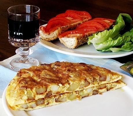 Фото для рецепта: Тортилья с картошкой по испански