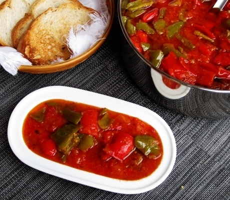 Фото для рецепта: Лечо из болгарского перца