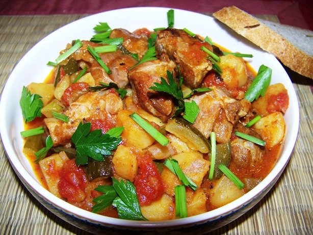 Фото для рецепта: Азу по-татарски