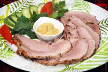 Фото для рецепта: Буженина в фольге из свинины