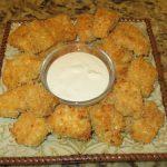 Фото для рецепта: Запеченные куриные наггетсы