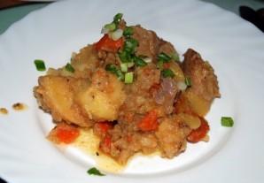 Фото для рецепта: Жаркое из свинины с картошкой