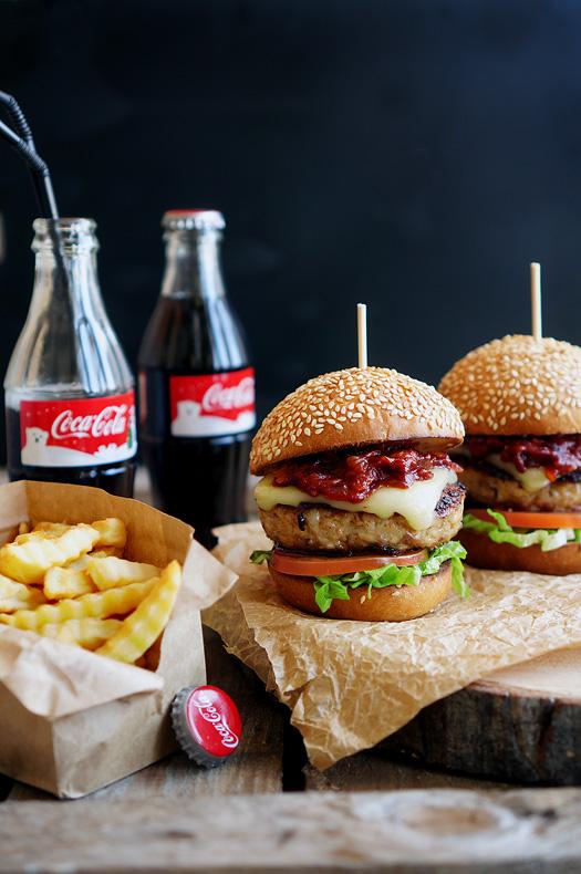 Фото для рецепта: Американские бургеры