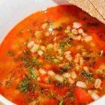 Фото для рецепта: Рассольник с солеными огурцами