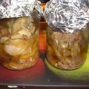 Фото для рецепта: Домашняя тушенка из курицы