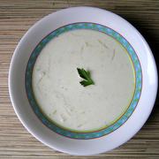Фото для рецепта: Молочный суп с куриной грудкой