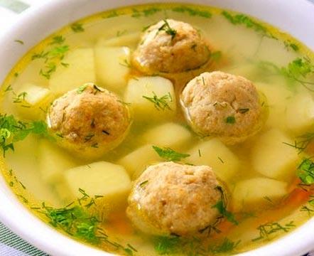 Фото для рецепта: Суп с фрикадельками