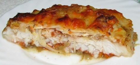 Фото для рецепта: Пангасиус в духовке