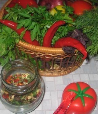 Фото для рецепта: Приправа для овощей