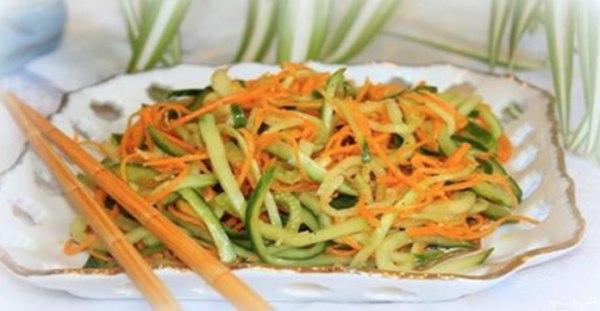 Фото для рецепта: Кабачки по-корейски