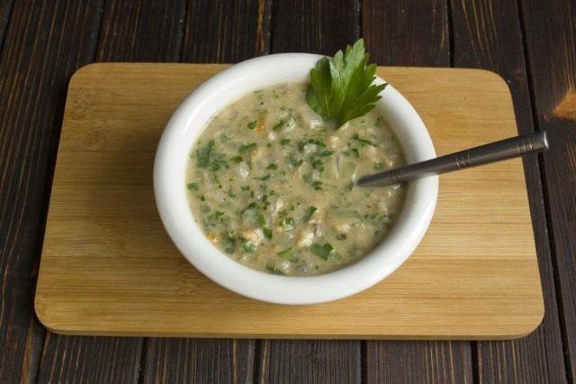 Фото для рецепта: Грузинский соус Сациви