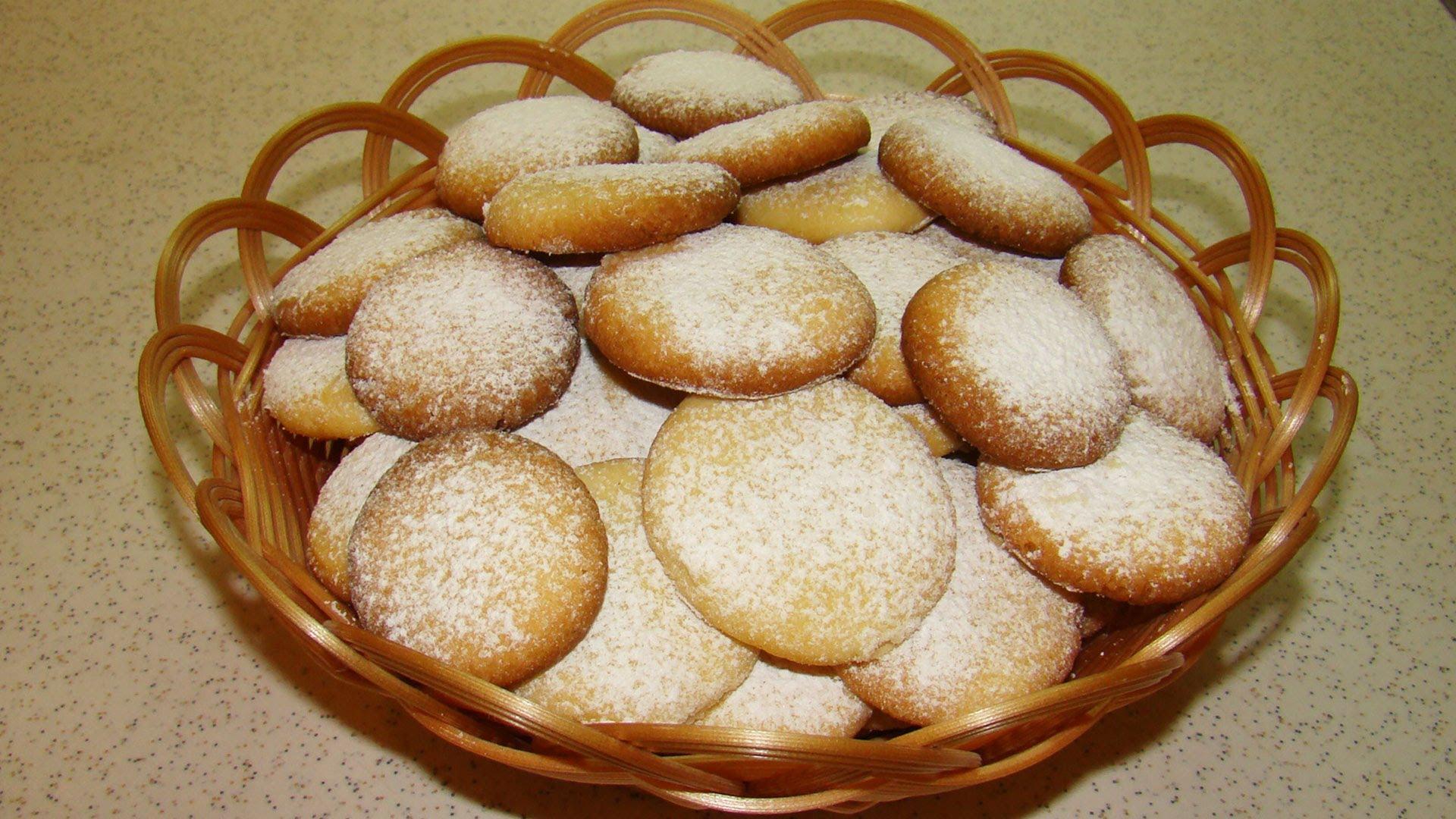 Фото для рецепта: Печенье чайное с грецкими орехами