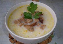 Фото для рецепта: Сырный суп