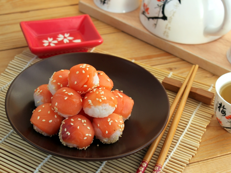 Фото для рецепта: Суши Темари