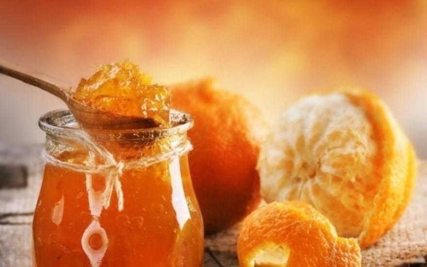 Фото для рецепта: Апельсиновый джем с цедрой