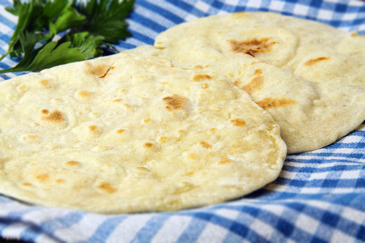 Фото для рецепта: Хлебные лепешки