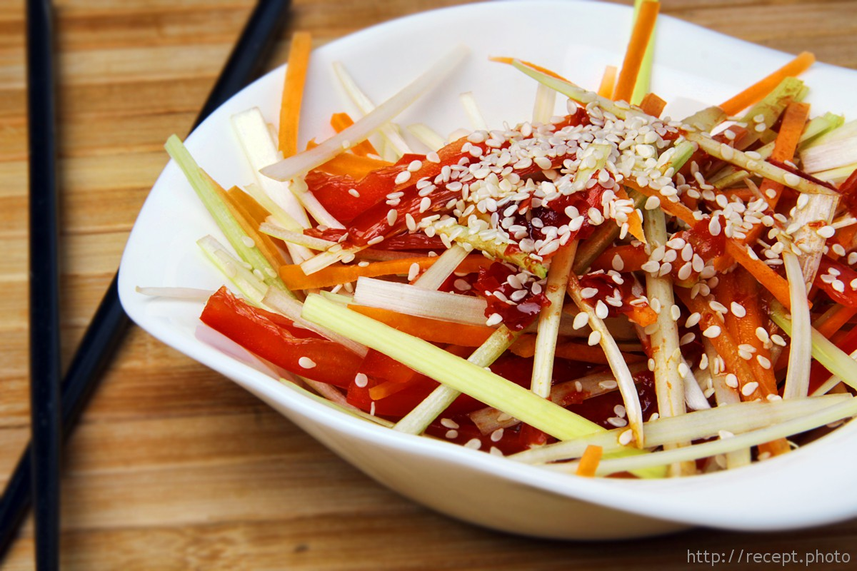 Фото для рецепта: Корейский салат