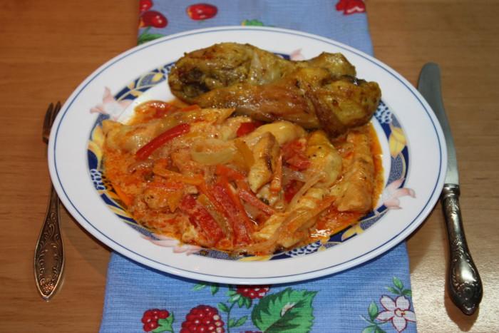 Фото для рецепта: Сырные ньокки с овощным гарниром
