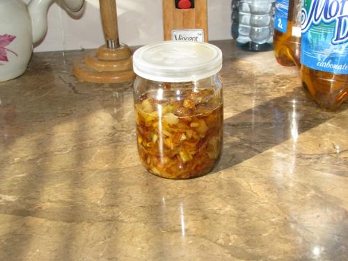 Фото для рецепта: Жареный лук на зиму в банке