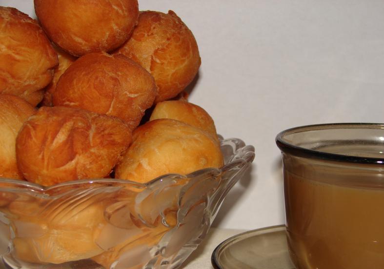 Фото для рецепта: Татарские баурсаки