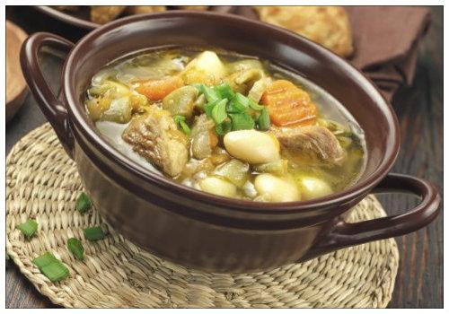 Фото для рецепта: Немецкий суп айнтопф