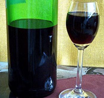 Фото для рецепта: Наливка из черноплодной рябины