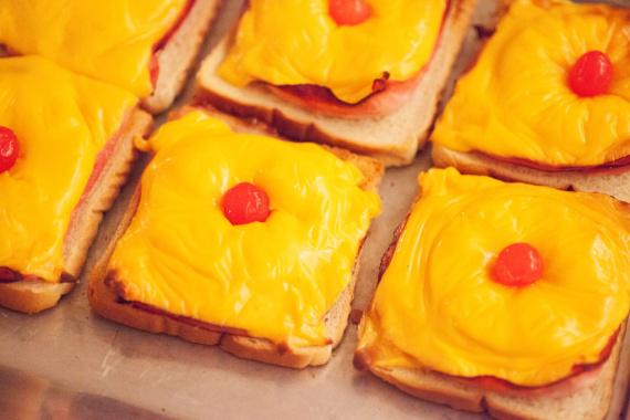 Фото для рецепта: Гавайские тосты