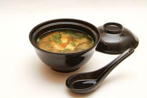 Фото для рецепта: Мисо суп с шиитаке