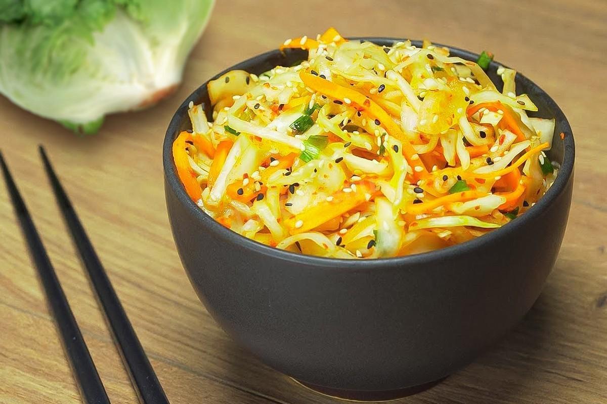 Фото для рецепта: Кимчи из белокочанной капусты