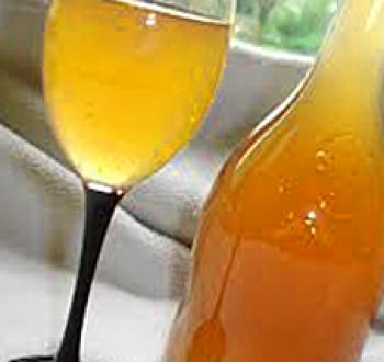 Фото для рецепта: Апельсиновое вино