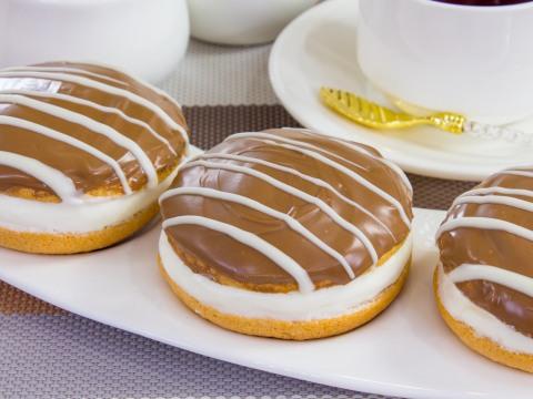 Фото для рецепта: Пирожные буше по-домашнему