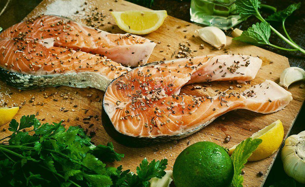 Фото для рецепта: Приправа для запеченной рыбы